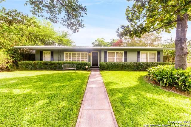 547 Robinhood Pl, San Antonio, TX 78209 (MLS #1469315) :: Alexis Weigand Real Estate Group