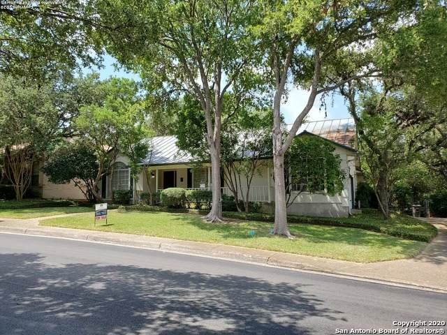 3730 Hunters Trail, San Antonio, TX 78230 (MLS #1469474) :: The Mullen Group | RE/MAX Access