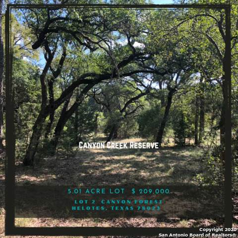 LOT 2 Canyon Frst, Helotes, TX 78023 (MLS #1485929) :: Neal & Neal Team