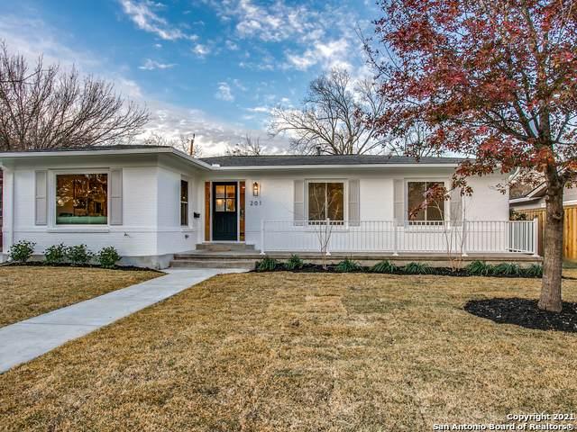 201 Robinhood Pl, San Antonio, TX 78209 (MLS #1503871) :: Keller Williams City View