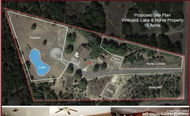 585 Witt Rd, Center Point, TX 78010 (MLS #1507794) :: Carter Fine Homes - Keller Williams Heritage