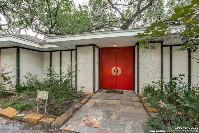 279 Rockhill Dr, San Antonio, TX 78209 (MLS #1538441) :: Keller Williams Heritage
