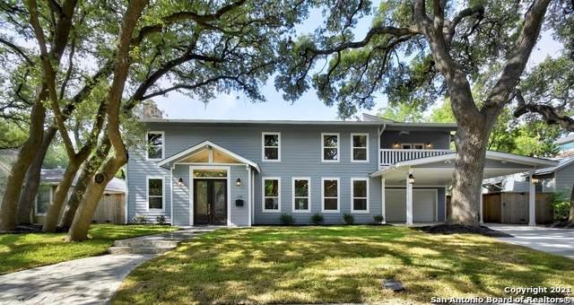 110 Brightwood Pl, San Antonio, TX 78209 (MLS #1542001) :: The Mullen Group | RE/MAX Access