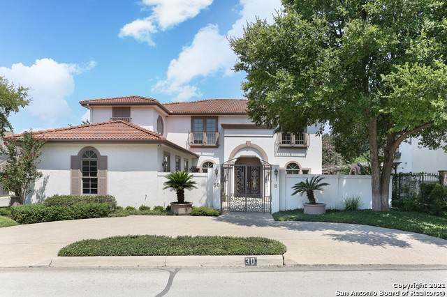 30 Bristol Green, San Antonio, TX 78209 (MLS #1555683) :: Texas Premier Realty