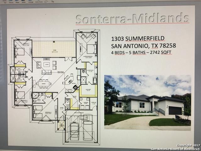 1303 Summerfield, San Antonio, TX 78258 (MLS #1249865) :: The Mullen Group | RE/MAX Access