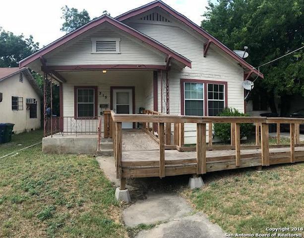 215 Berkshire, San Antonio, TX 78210 (MLS #1310093) :: Exquisite Properties, LLC