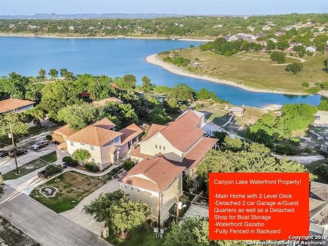 1745 W Lakeside Dr, Canyon Lake, TX 78133 (MLS #1328516) :: Alexis Weigand Real Estate Group