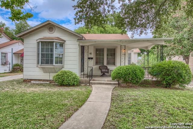 431 Halliday Ave, San Antonio, TX 78210 (MLS #1329785) :: Alexis Weigand Real Estate Group