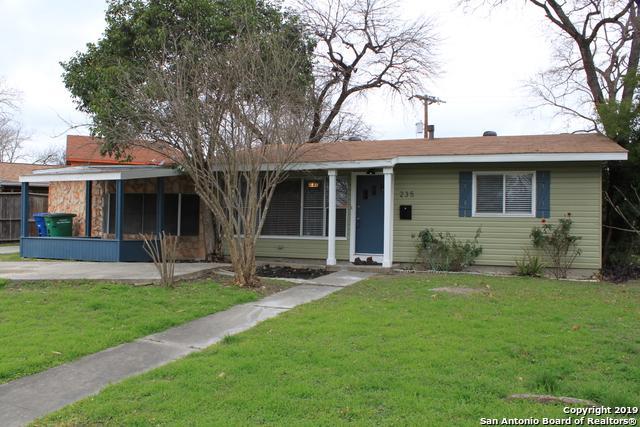 235 Saratoga Dr, San Antonio, TX 78213 (MLS #1359367) :: Alexis Weigand Real Estate Group