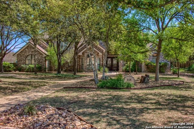 218 Post Oak Way, Shavano Park, TX 78230 (MLS #1371893) :: Alexis Weigand Real Estate Group