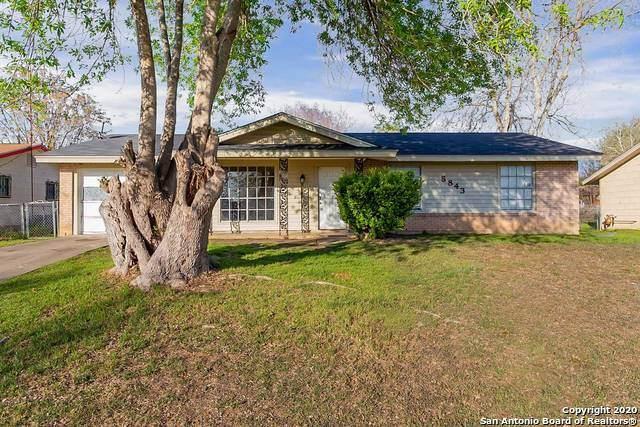 5843 Laurel Valley Dr, San Antonio, TX 78242 (MLS #1445054) :: BHGRE HomeCity San Antonio