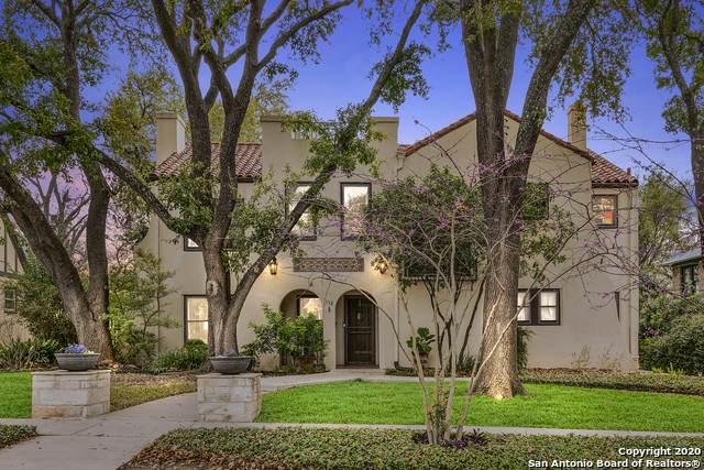112 W Ridgewood Ct, San Antonio, TX 78212 (MLS #1445124) :: The Gradiz Group