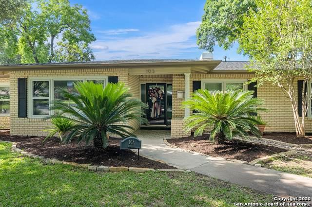 103 Wyndale St, San Antonio, TX 78209 (MLS #1459346) :: The Heyl Group at Keller Williams