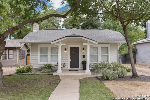 343 Pershing Ave, San Antonio, TX 78209 (MLS #1485795) :: Alexis Weigand Real Estate Group