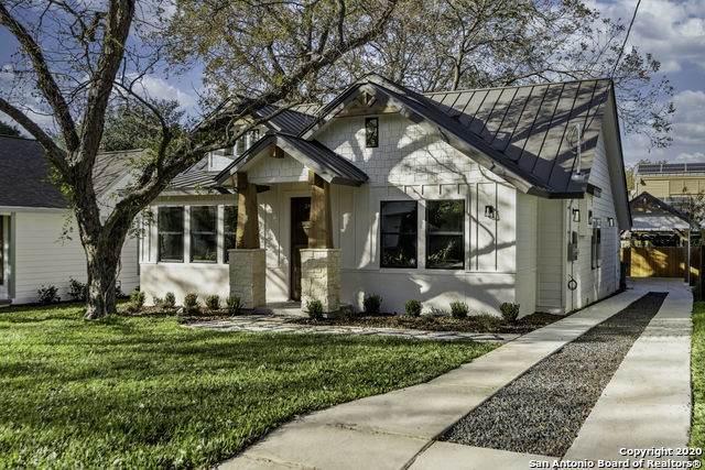 309 Alta Ave, Alamo Heights, TX 78209 (MLS #1499295) :: Santos and Sandberg