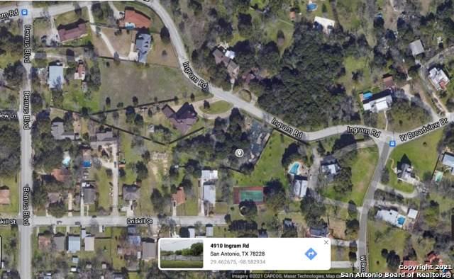 4910 Ingram Rd, San Antonio, TX 78228 (MLS #1526687) :: JP & Associates Realtors