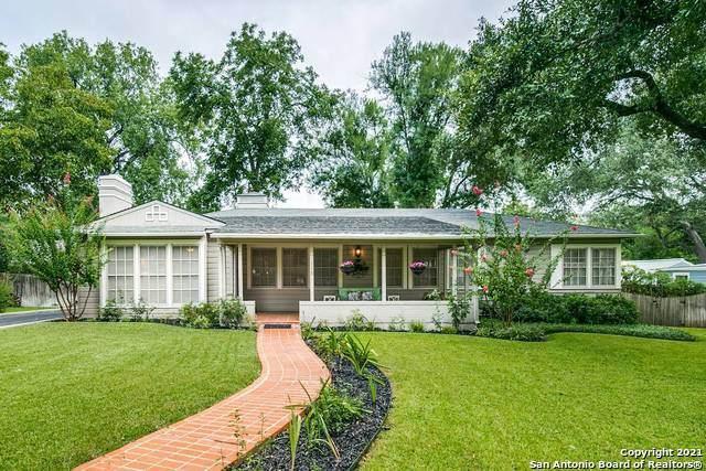 119 Tuttle Road, Terrell Hills, TX 78209 (MLS #1559670) :: The Gradiz Group