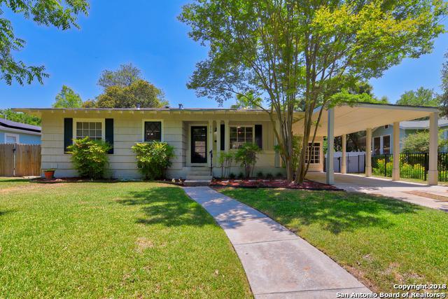 316 Harmon Dr, San Antonio, TX 78209 (MLS #1312187) :: Exquisite Properties, LLC