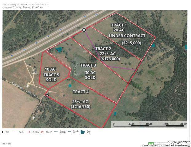 760 Cr 413A Tract 2, Waelder, TX 78959 (MLS #1486450) :: The Glover Homes & Land Group