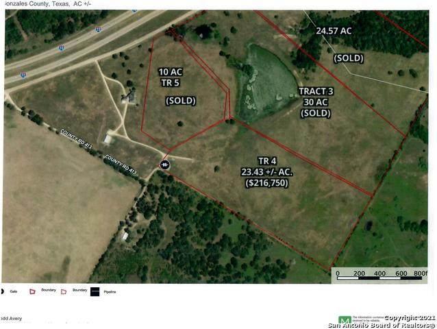 760 Cr 413A Tract 4, Waelder, TX 78959 (MLS #1486466) :: Tom White Group