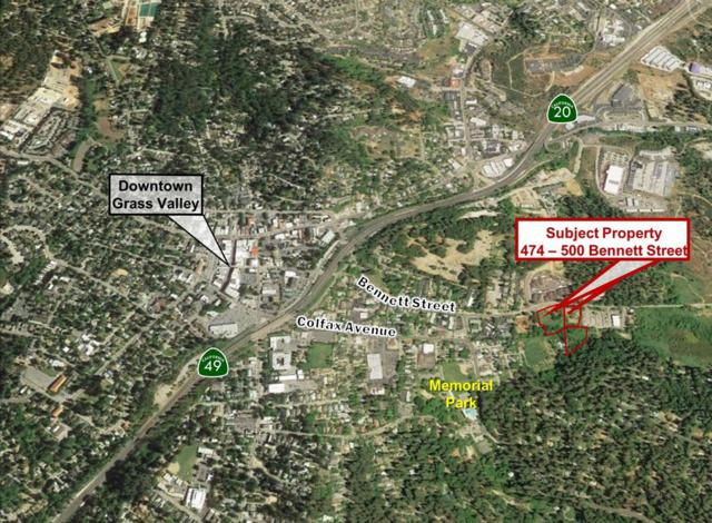 474-500 Bennett Street, Grass Valley, CA 95945 (MLS #18009118) :: Keller Williams - Rachel Adams Group