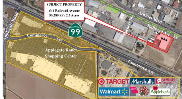 644 Railroad Avenue, Atwater, CA 95301 (MLS #18009184) :: Keller Williams - Rachel Adams Group