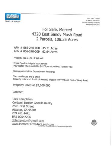 4320 E Sandy Mush Road, Merced, CA 95341 (MLS #18011446) :: Dominic Brandon and Team