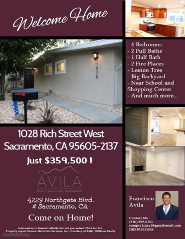 1028 Rich Street, West Sacramento, CA 95605 (MLS #18057422) :: Gabriel Witkin Real Estate Group