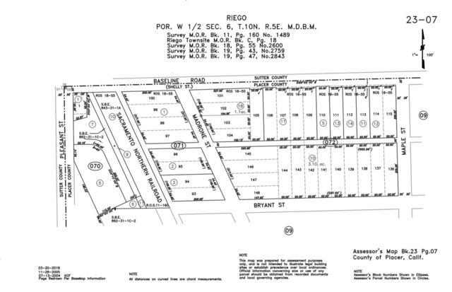 0 10600 Baseline Road, Elverta, CA 95626 (MLS #19022142) :: Keller Williams - Rachel Adams Group