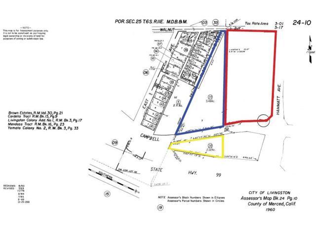 0 Hammatt Avenue, Livingston, CA 95334 (MLS #19033807) :: Live Play Real Estate | Sacramento