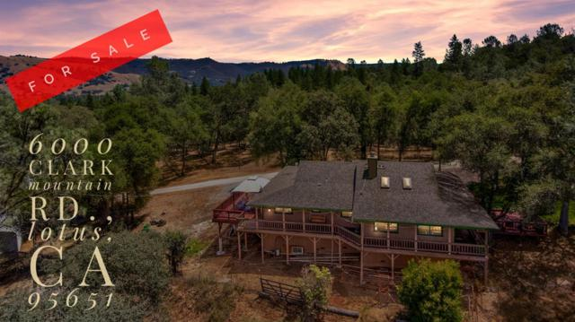 6000 Clark Mountain Road, Lotus, CA 95651 (MLS #19046643) :: The MacDonald Group at PMZ Real Estate