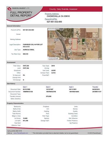 18500 Avenue 24, Chowchilla, CA 93610 (MLS #20002140) :: Keller Williams - Rachel Adams Group