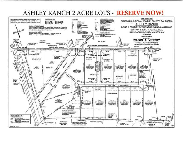 6040-Lot 15 Ashley (Lot 15) Lane, Stockton, CA 95212 (MLS #20008166) :: REMAX Executive
