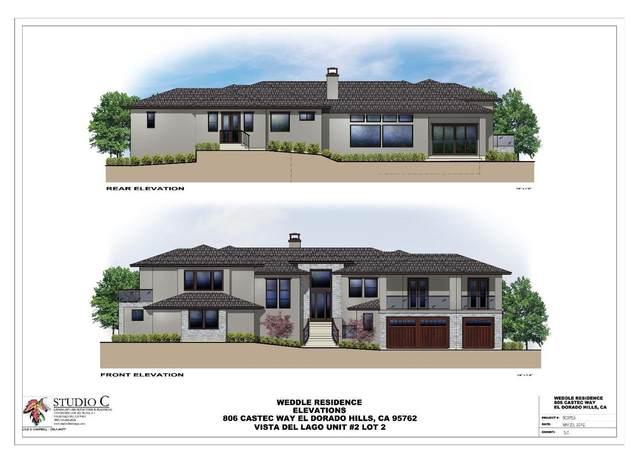 806 Castec Way, El Dorado Hills, CA 95762 (MLS #20009500) :: The Merlino Home Team