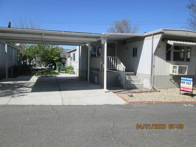 820 N 820 N LINCOLN WAY #20, Galt, CA 95632 (MLS #20027226) :: Keller Williams - The Rachel Adams Lee Group