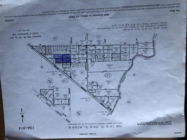0 Sherman Road, Wilton, CA 95693 (MLS #20053397) :: Dominic Brandon and Team