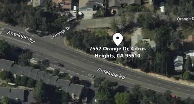 7552 Orange Drive, Citrus Heights, CA 95610 (MLS #20061792) :: Keller Williams - The Rachel Adams Lee Group