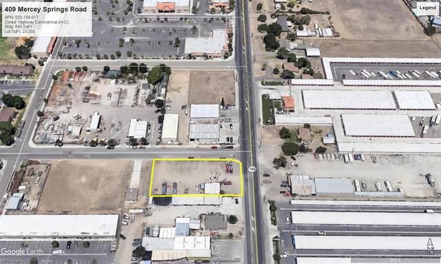 409 Mercey Springs Road, Los Banos, CA 93635 (MLS #221090345) :: Keller Williams - The Rachel Adams Lee Group
