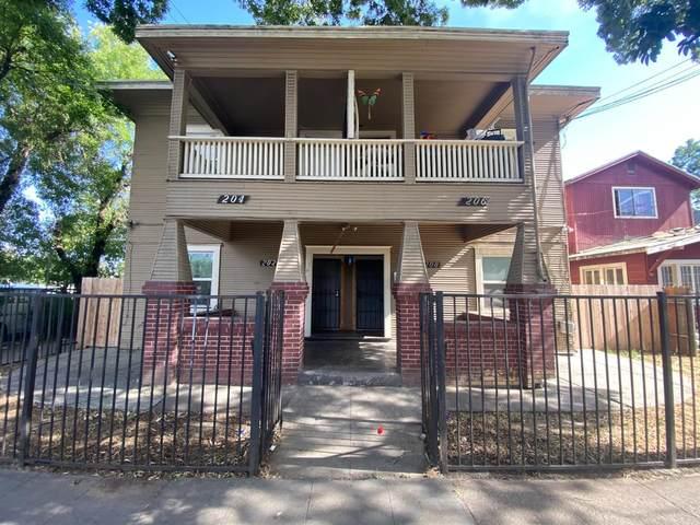 202 W Oak Street, Stockton, CA 95203 (MLS #221119549) :: Keller Williams - The Rachel Adams Lee Group