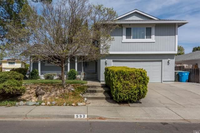 597 Florence Drive, Vacaville, CA 95688 (MLS #321025415) :: Keller Williams - The Rachel Adams Lee Group