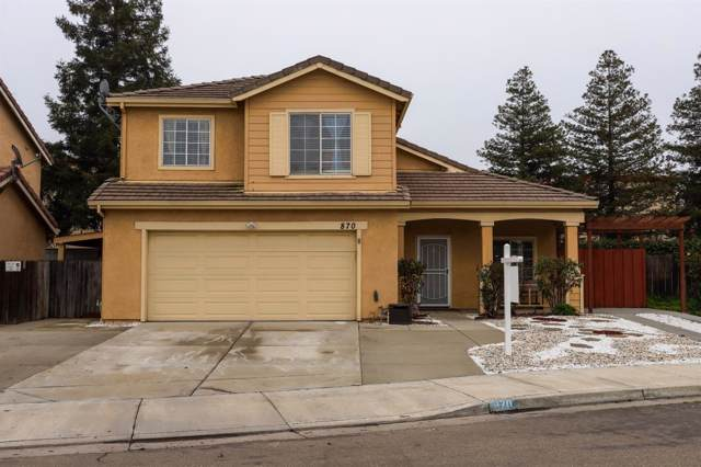 870 Weeping Willow Lane, Tracy, CA 95376 (MLS #20002984) :: Deb Brittan Team
