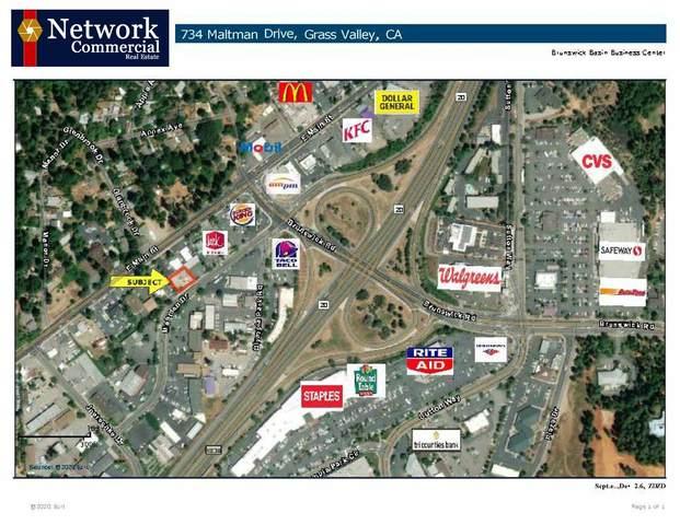 734 Maltman Drive, Grass Valley, CA 95945 (MLS #20057822) :: The Merlino Home Team