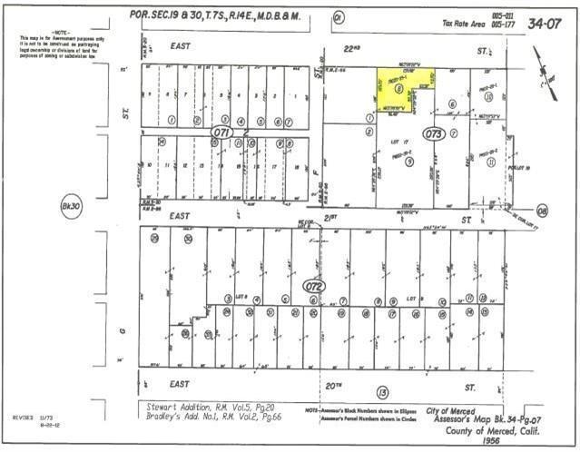 0 E 22nd, Merced, CA 95340 (MLS #18026484) :: Keller Williams - Rachel Adams Group