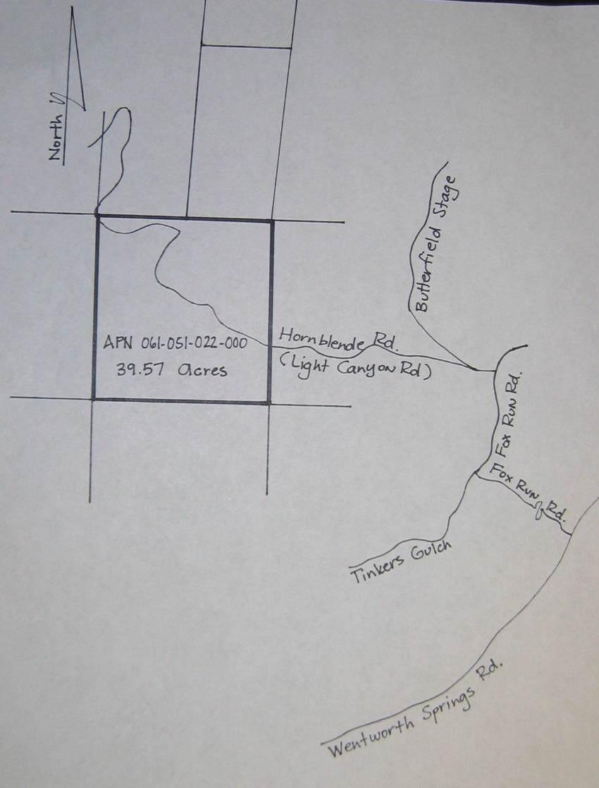 39-.5 acres Hornblende Road - Photo 1