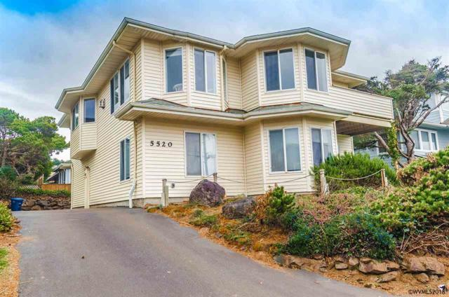 5520 NW Jetty, Lincoln City, OR 97367 (MLS #733693) :: Gregory Home Team