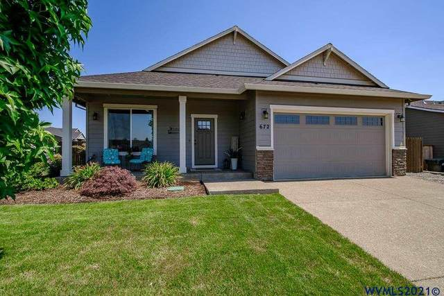 672 SE Mustang Lp, Sublimity, OR 97385 (MLS #781989) :: Change Realty
