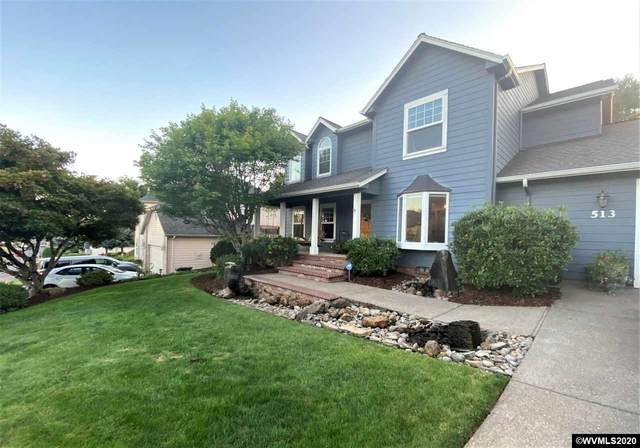 513 NW Heather Pl, Sublimity, OR 97385 (MLS #766785) :: Gregory Home Team