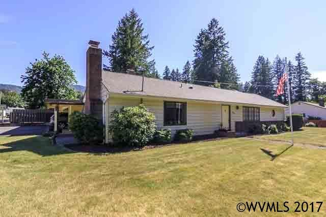 712 SW Evergreen St, Mill City, OR 97360 (MLS #724473) :: Premiere Property Group LLC