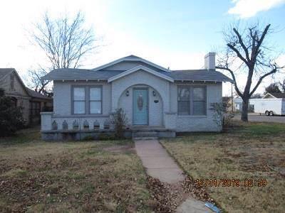 223 N Adams St, San Angelo, TX 76901 (MLS #99809) :: Maegan Brest | Keller Williams Realty