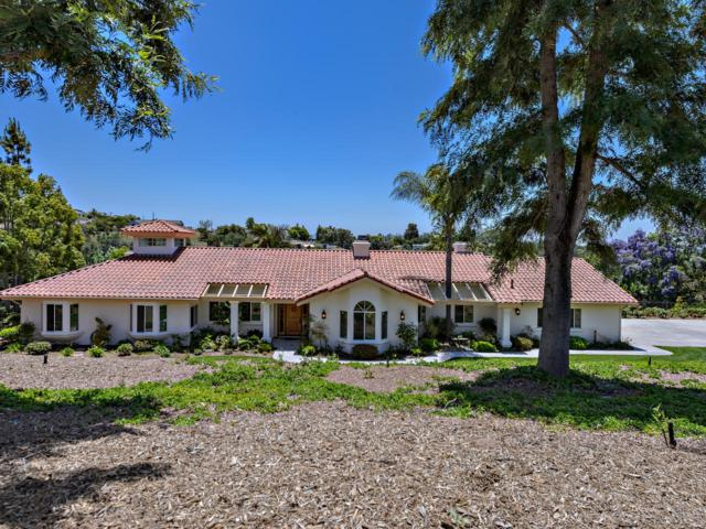 1395 Sunset Grove Rd, Fallbrook, CA 92028 (#170029380) :: Whissel Realty